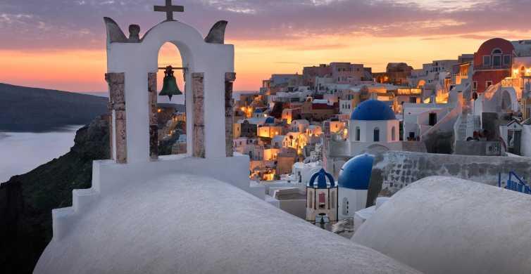 Santorini: 2-Day Volcanic Cruise & Bus Tour Combo