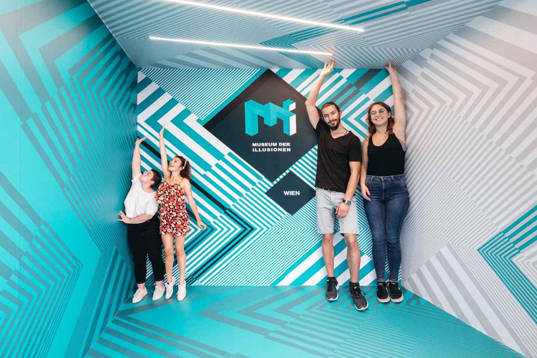 Wien: Ticket für das Museum der Illusionen