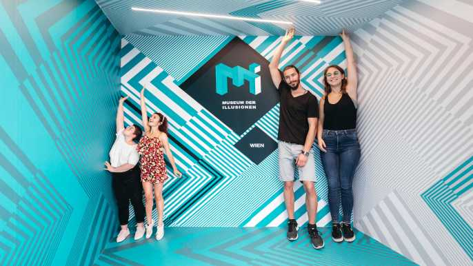Vienna: Admission Ticket to the Museum of Illusions