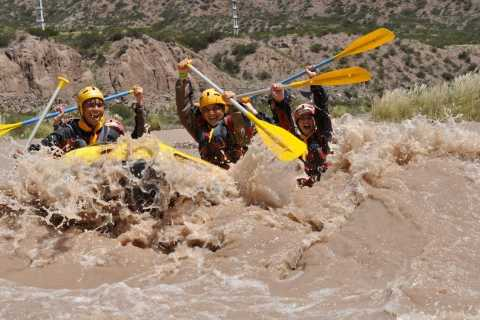 Mendoza: River Rafting & Canopy in the Andes Mountain Range
