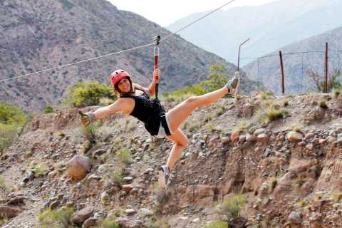 Mendoza: Trekking and Rappelling in the Andes