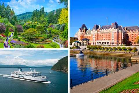 Full-Day Victoria and Butchart Gardens Tour from Vancouver