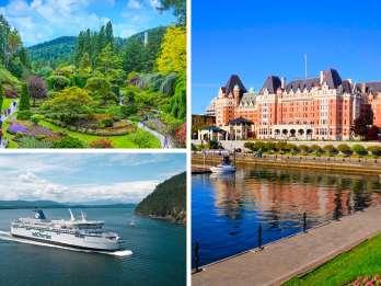 Victoria und Butchart Gardens: Tagestour ab Vancouver