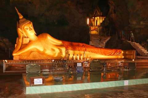 Full-Day Temple Tour Including Dragon Cave from Khao Lak