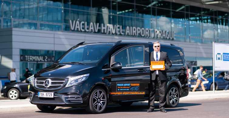 Aeropuerto de Praga: transportes lanzadera compartidos