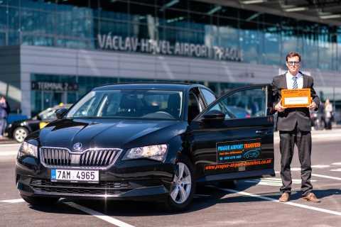 Aeropuerto de Praga: traslado privado