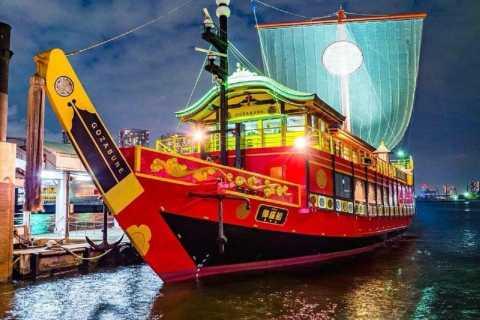 Tokio: Dinner Cruise auf einem Edo-Schiff