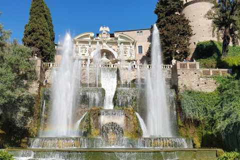 Tivoli: pase sin colas a Villa d'Este con folleto