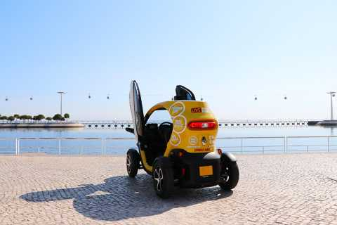 Lisbon: Self-Drive Modern City Tour and Oceanarium Tickets