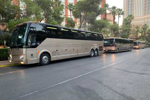 From Grand Canyon South Rim: Luxury Shuttle to Las Vegas