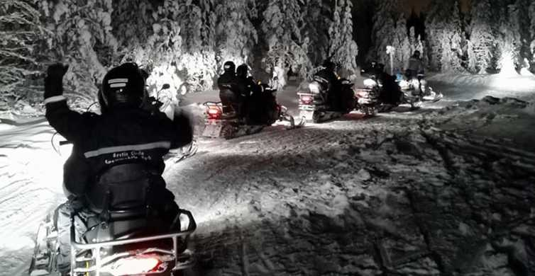 De Rovaniemi: Night Snowmobile Safari
