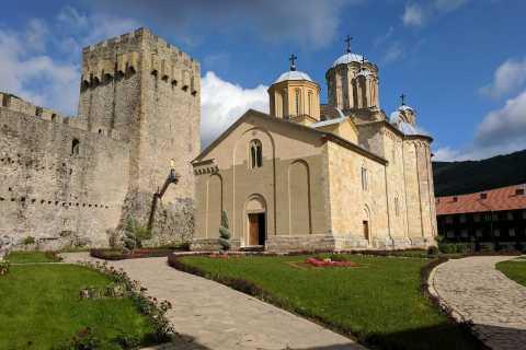 From Belgrade: Medieval Monasteries of Manasija and Ravanica