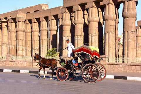 Luxor: Horse-Drawn Carriage City Tour from West Bank
