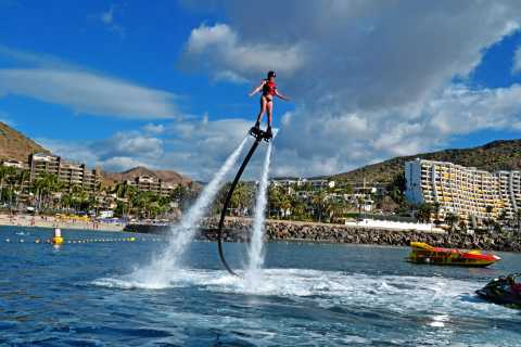 Gran Canaria: Flyboard-session på Anfi Beach