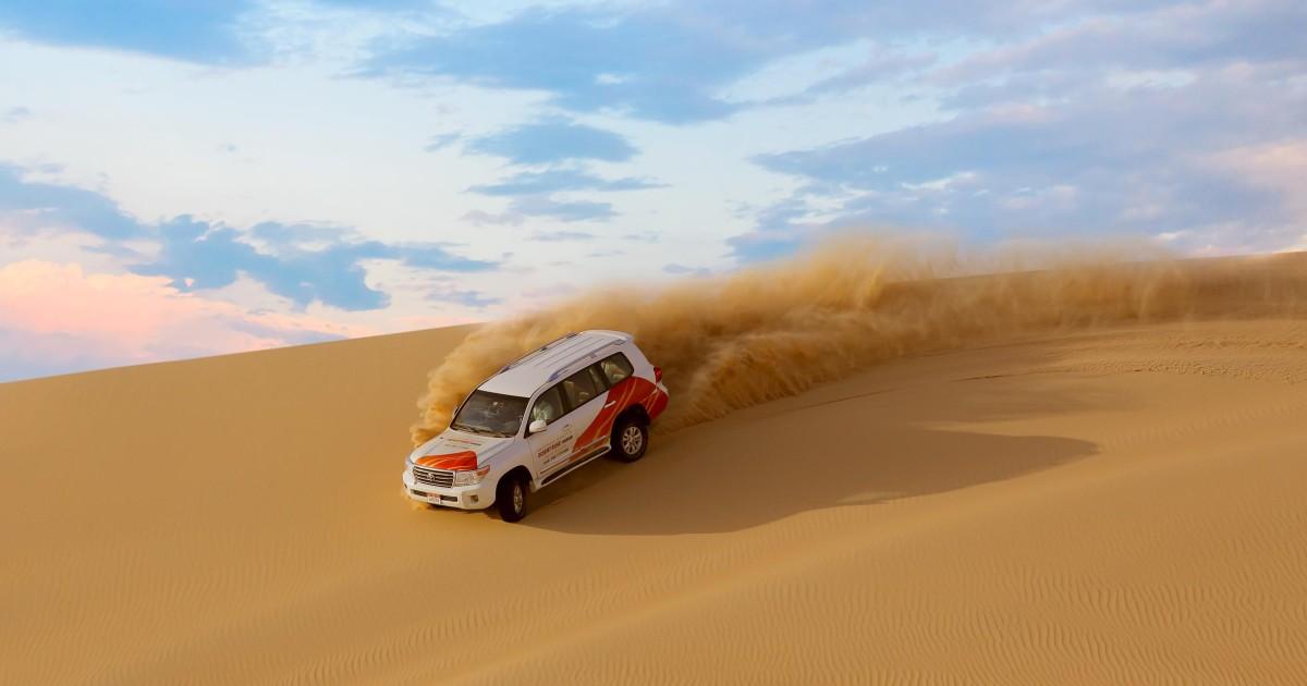 Dune Bashing Desert Safari   malatours