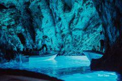 Tour Gruta Azul e 5 Ilhas de Hvar saindo de Trogir/Split