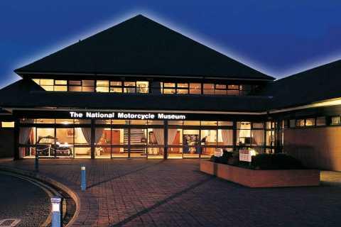 Birmingham: Ingresso para o Museu Nacional da Motocicleta