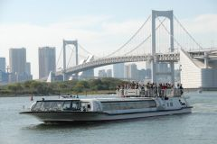 Tóquio: Cruzeiro Fluvial de Asakusa a Odaiba 1 Hora