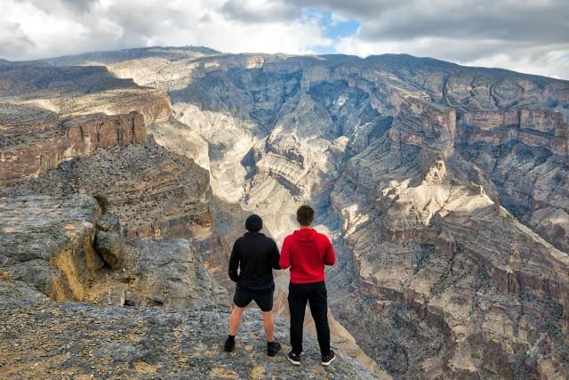 Muscat: dagtocht naar Jabel Shams, de Grand Canyon van Oman