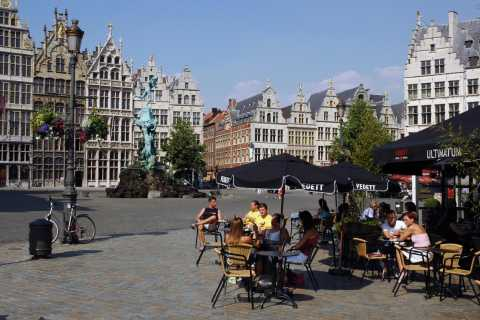 Antwerp: Private 3-Hour Historical Sightseeing Walking Tour