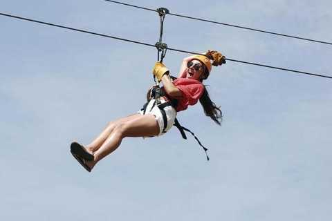 Puerto Plata: Treetop Zip Lining Adventure Experience