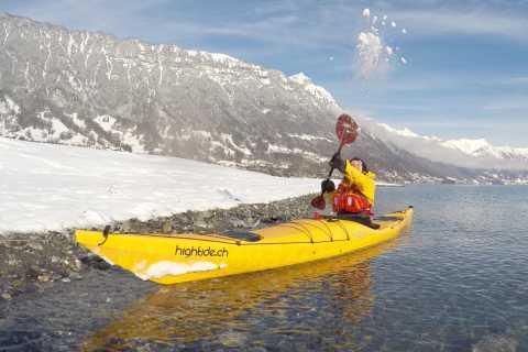Interlaken: Winter Kayak Tour on Lake Brienz