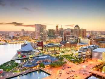 Von DC: Tagesausflug nach Baltimore mit optionalem National Aquarium