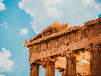 Akropolis: Ticket-Abholung 450 m vom Südeingang entfernt
