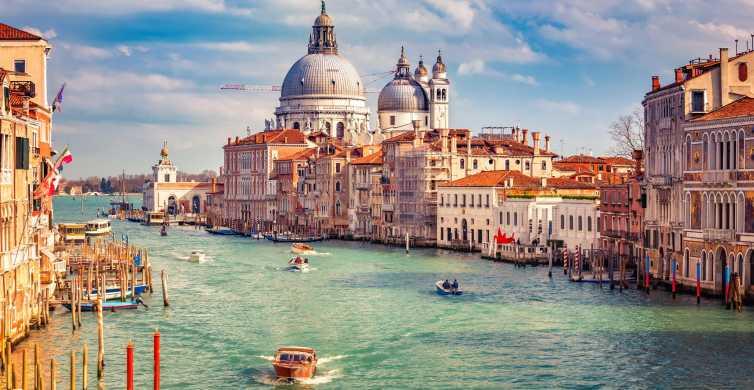 Venetië: dagtocht vanuit Rome met hogesnelheidstrein met gondel