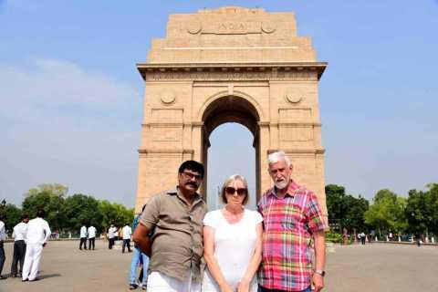 Nuova e Antica Delhi: tour guidato di gruppo di 8 ore
