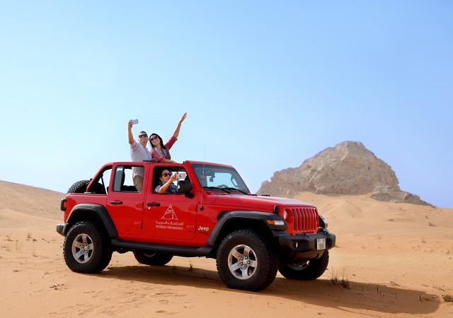 Van Dubai: Jeep Adventure Safari