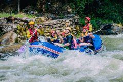 Aventura em Phuket: Caverna do Macaco, Rafting, Tirolesa e Cachoeira