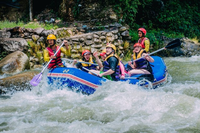 Phuket Adventure: Monkey Cave, Rafting, Zip Line & Waterfall