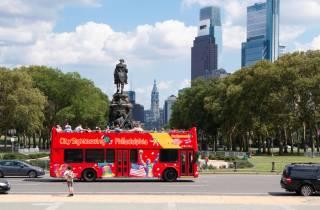 Philadelphia: Hop-On-Hop-Off-Doppeldecker Sightseeing-Tour