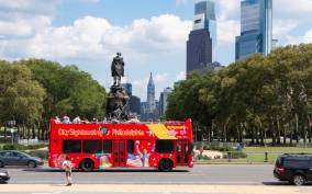 Philadelphia: Double-Decker Hop-on Hop-off Sightseeing Tour