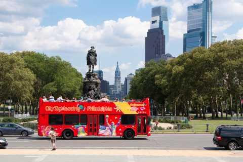 Philadelphia: Double-Decker Hop-on Hop-off Sightseeing Tour