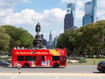 Philadelphia: Hop-On-Hop-Off-Doppeldecker Sightseeing-Tour