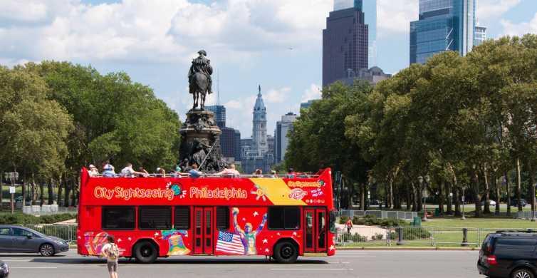 Filadélfia: Excursão Turística Hop-on Hop-off de 2 Andares