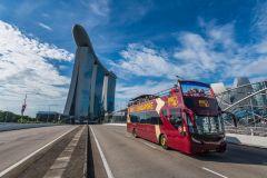Singapura: Circuito do Ônibus Hop-On Hop-Off da Big Bus