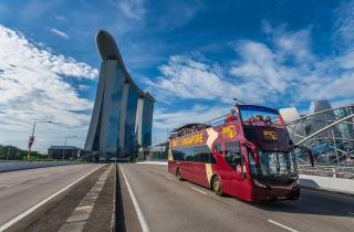 Singapur: Big Bus Open-Top Hop-On/Hop-Off-Sightseeingtour