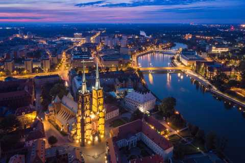 Wroclaw: Guided Famous Islands Tour