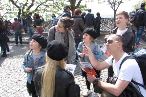 Montmartre: Private Treasure Hunt for Families and Kids
