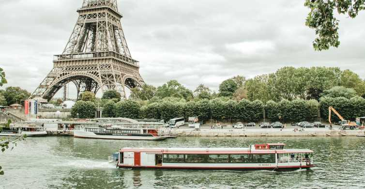 Paryż: Rejs po Sekwanie z włoską kolacją