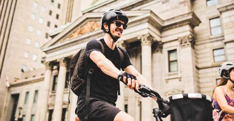 Montreal: Immersive Small Group Guided Bike Tour