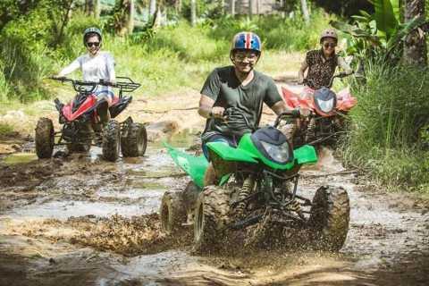 Puerto Princesa: Underground River och ATV Jungle Track Tour