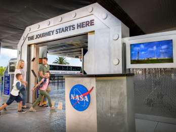 Ab Orlando: Kennedy Space Center Ticket mit Transfers