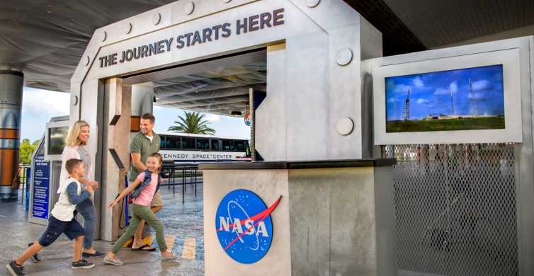 Kennedy Space Center with Transportation from Orlando