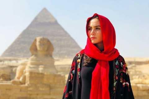 Kairo: Pyramider, museumsbesøk og middags cruise-kombinasjon