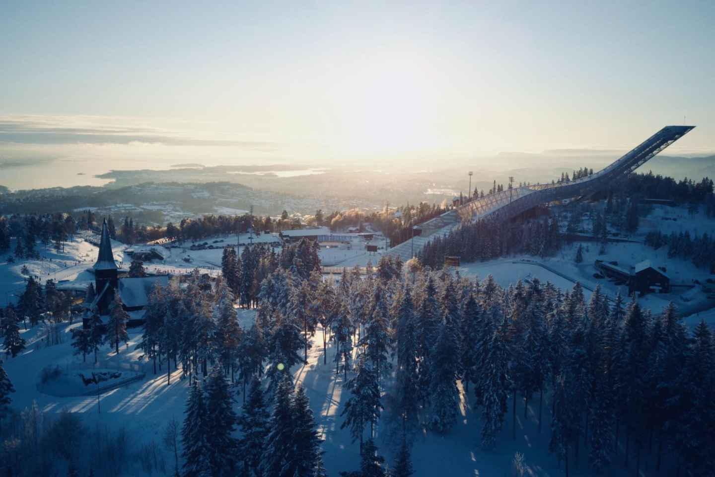 Oslo: Schlitten-Erlebnis