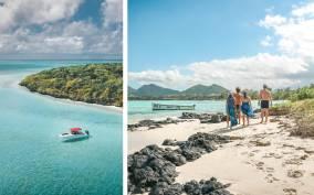 Mauritius: Full-Day Speedboat Tour to Ile aux Cerfs & BBQ